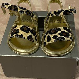 NIB My First Weitzmans Leopard Sandals for Baby
